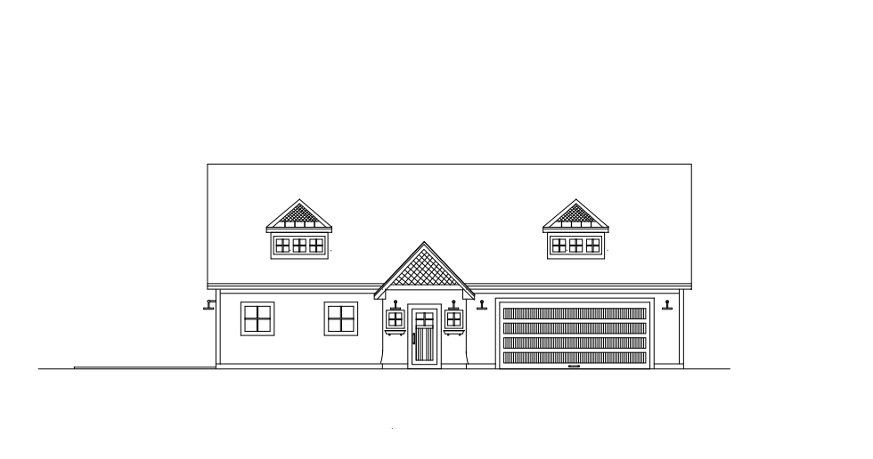 N Bungalow Front Elevation : The bungalow house collection